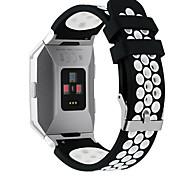 Недорогие -Ремешок для часов для Fitbit ionic Fitbit Повязка на запястье Спортивный ремешок силиконовый