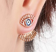 cheap -Women's Stud Earrings Front Back Earrings Sexy Fashion Hiphop Statement Jewelry Alloy Geometric Jewelry For Bar Club