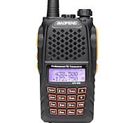 baratos -BAOFENG Rádio de Comunicação Portátil 5 - 10 km 5 - 10 km Walkie Talkie Dois canais de rádio
