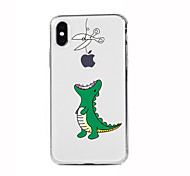 abordables -Para iPhone X iPhone 8 iPhone 8 Plus iPhone 7 iPhone 6 Funda iPhone 5 Carcasa Funda Ultrafina Transparente Diseños Cubierta Trasera Funda