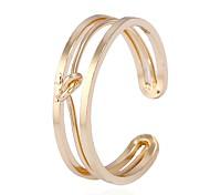 Недорогие -Жен. Классические кольца манжета кольцо , металлический Рок Сплав Геометрической формы Бижутерия Для улицы Для клуба