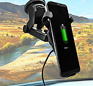 abordables -Cargador de Coche Cargador Wireless Cargador USB del teléfono USB Qi 1 Puerto USB 1A DC 5V iPhone X iPhone 8 Plus iPhone 8 S8 Plus S8 S7