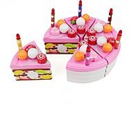 Ролевые игры Игрушки Круглый Продукты питания Friut Еда и напитки День рождения Мальчики Девочки Куски