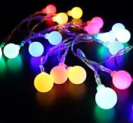 preiswerte -BRELONG® 28 LEDs 2M Lichterkette RGB + Weiß Dekorativ Wechselstrom 220-240V