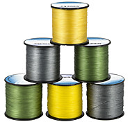 cheap -Anmuka PE Wire 500M  4 Strands Braided Fishing Line Multifilament Line For Sea Fishing Japan 8 10 20 30 40 60 80 LB