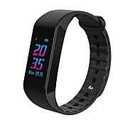 Недорогие -Смарт-браслет Bluetooth Защита от влаги Израсходовано калорий Сенсорный датчик Контроль APP Импульсный трекер Педометр Датчик для