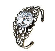 cheap -Women's Cuff Bracelet , Cute Cartoon Fashion Glass Alloy Circle Jewelry Evening Party Carnival