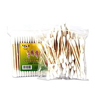 cheap -100 pcs Makeup Cotton Stick Wooden Stick