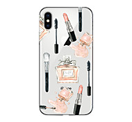 abordables -Funda Para Apple iPhone X iPhone 8 Plus Transparente Diseños Cubierta Trasera Chica Sexy Suave TPU para iPhone X iPhone 8 Plus iPhone 8