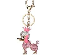 Недорогие -Брелок Бижутерия Черный Светло-Розовый Животный принт Искусственный бриллиант Сплав Животные Милый Повседневные Жен.