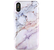 abordables -Para iPhone X iPhone 8 Carcasa Funda Diseños Cubierta Trasera Funda Mármol Suave TPU para Apple iPhone X iPhone 8 Plus iPhone 8 iPhone 7