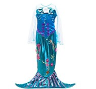 cheap -The Little Mermaid Dress Kid Halloween Festival / Holiday Halloween Costumes Purple Mermaid