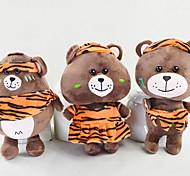 """Недорогие -Мягкие игрушки Игрушки Медведи Animal Shape Животный принт Животные Друзья Семья Мягкость Мультфильм игрушки Дизайн """"Мультфильмы"""""""