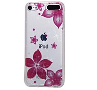 cheap -Case For Apple Ipod Touch5 / 6 Case Cover High Penetrating Powder IMD Morning Glory Soft TPU Phone Case