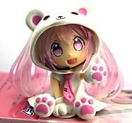 economico -Figure Anime Azione Ispirato da Vocaloid Sakura Miku 7 CM Giocattoli di modello Bambola giocattolo