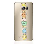 abordables -Funda Para Samsung Galaxy S8 Plus S8 Diseños Funda Trasera Caricatura Suave TPU para S8 Plus S8 S7 edge S7 S6 edge plus S6 edge S6