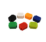 cheap -ZY-25 DIY Solderless Assembled 25-Hole Mini Bread Board Test Board - Multi-Colored (1 Set)