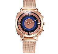 cheap -Women's Fashion Watch Wrist watch Chinese Quartz Large Dial Alloy Band Casual Minimalist Rose Gold