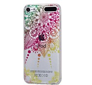 baratos -caso para Apple ipod touch5 / 6 capa capa alto penetrante pó imd mandala soft tpu phone case