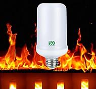 cheap -YWXLight® 1pc E27 4W 99leds LED Flame Effect Fire Light Led Corn Light AC85-265V