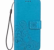 cheap -Case For OnePlus One Plus 3 OnePlus 5T 5 Card Holder with Stand Magnetic Embossed Full Body Cases Flower Hard PU Leather for One Plus 5