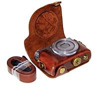 Недорогие -dengpin pu кожаный чехол для камеры сумка для canon powershot g9 x mark ii g9x g9x2 (различные цвета)