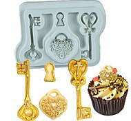 Недорогие -Формы для пирожных Для Cookie Для торта Для шоколада Для приготовления пищи Посуда Шоколад Печенье силикагель Своими руками Антипригарное