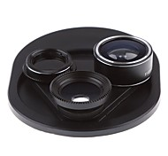 cheap -Mobile Phone Lens Lens with Filter Fish-Eye Lens Wide-Angle Lens Macro Lens Glass 15X 25 0.1 198 High Definition Adjustable Fisheye Lens