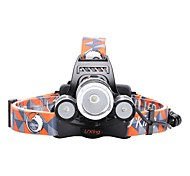 cheap -LS064 5000Lm 3 X CREE XM-L T6 LED Rechargeable Headlamp Headlight Torch Flashlight