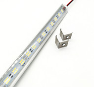 cheap -ZDM® 144 LEDs 1x Hard Light Strip Warm White Cold White DC 12V