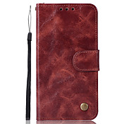 cheap -Case For Xiaomi Redmi Note 5A Card Holder Wallet with Stand Flip Full Body Cases Solid Color Hard PU Leather for Xiaomi Redmi Note 4X