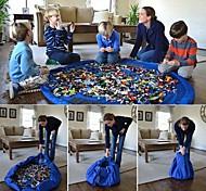 Недорогие -дети большой портативный организатор играть мат игрушки сумка для хранения 150см xl