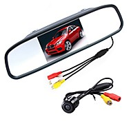 cheap -4.3 inch TFT-LCD CCD Car Rear View Kit Waterproof Night Vision for Car