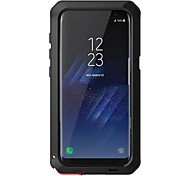 cheap -Case For Samsung Galaxy S8 Plus S8 Shockproof Full Body Cases Armor Hard Metal for S8 Plus S8 S7 edge S7 S6 edge plus S6 edge S6 S5