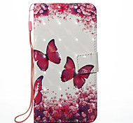 cheap -Case For Xiaomi Redmi Note 5A Redmi Note 4X Card Holder Wallet with Stand Full Body Cases Butterfly Hard PU Leather for Xiaomi Redmi Note