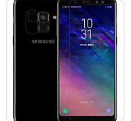 cheap -Screen Protector Samsung Galaxy for A8+ 2018 PET 1 pc Front & Back & Camera Lens Protector Front Screen Protector Anti-Glare