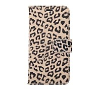 cheap -Case For Apple iPhone X iPhone 8 Plus Card Holder with Stand Full Body Cases Leopard Print Hard PU Leather for iPhone X iPhone 8 Plus