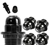 Недорогие -черный стиль 5 шт e26 e27 розетка винт луковицы edison ретро подвеска держатель лампы diy