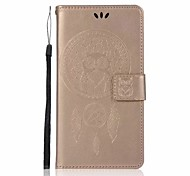 cheap -Case For Xiaomi Redmi Note 4X Redmi 4X Card Holder Wallet with Stand Flip Pattern Full Body Cases Dream Catcher Owl Hard PU Leather for