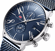 cheap -MINI FOCUS Men's Quartz Wrist Watch Chinese Calendar / date / day Water Resistant / Water Proof Casual Watch Stopwatch Stainless Steel