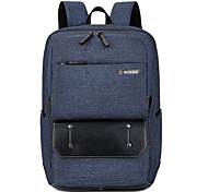 "cheap -Nylon Solid Backpacks 17"" Laptop"