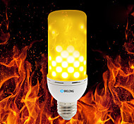 cheap -BRELONG E27/E14/B22 2835 99LEDs Warm White Fire Flame Light Bulb 4W AC 85 - 265V
