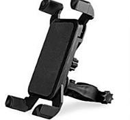 Недорогие -держатель подставки для мобильного телефона на велосипеде регулируемый подставка для мобильного телефона пряжка типа пластиковый держатель