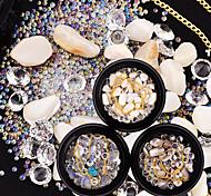 abordables -Tenue Cristal Nail Glitter Mode Haute qualité Quotidien Ensembles
