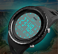 cheap -SKMEI Men's Digital Sport Watch Chinese Calendar / date / day Chronograph Water Resistant / Water Proof Noctilucent Dual Time Zones PU