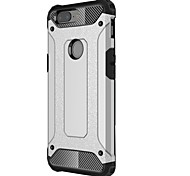 cheap -Case For OnePlus 5 OnePlus 5T Shockproof Back Cover Armor Hard Metal for One Plus 5 OnePlus 5T One Plus 3 One Plus 3T