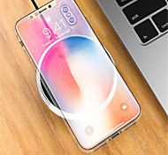 cheap -Wireless Charger Phone USB Charger USB Wireless Charger 1 USB Port 2A DC 5V iPhone X iPhone 8 Plus iPhone 8 S8 Plus S8 S7 Active S7 edge