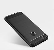 abordables -Funda Para Huawei P10 Lite P10 Congelada Funda Trasera Color sólido Suave TPU para P10 Plus P10 Lite P10 P8 Lite (2017)