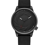 Недорогие -Жен. Модные часы Японский Кварцевый Защита от влаги Повседневные часы силиконовый Группа Cool Мода Черный