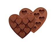 Недорогие -Формы для пирожных Сердце конфеты Для Cookie Для торта Шоколад Печенье силикагель Своими руками День Святого Валентина Новый год Свадьба